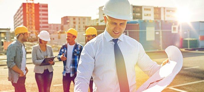 Genehmigte Bauanträge und Fertighäuser im Jahr 2017