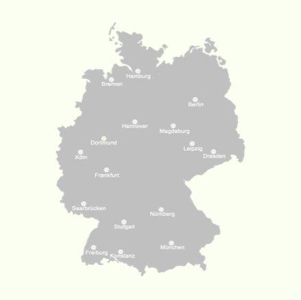 Standorte ean50 deutschlandweit