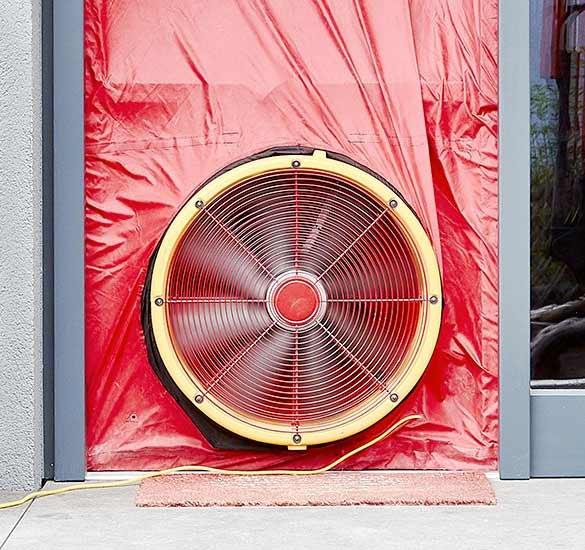 Blower Door Test Ventilator Formular